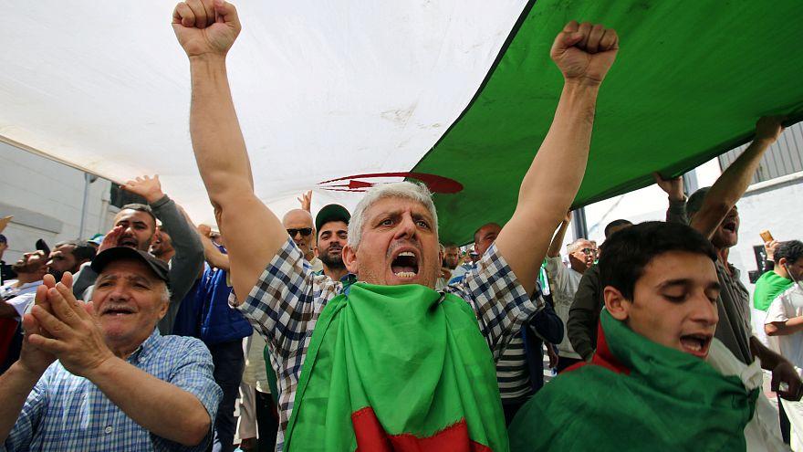 Manifestant à Alger, le 31/05/2019