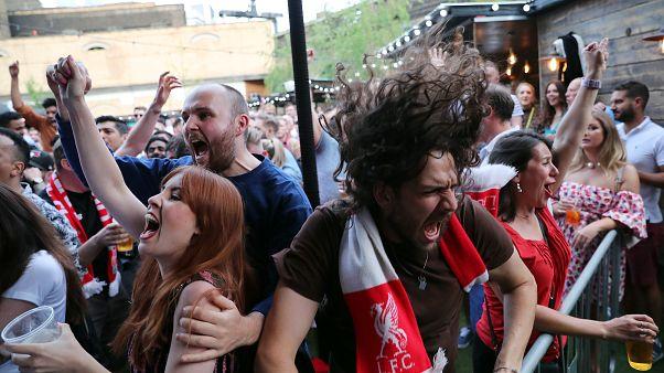 Így ünnepelték a Liverpool szurkolói a BL-címet