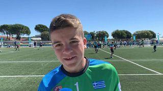 Football for Friendship profile: Petros, Greece
