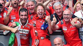 Histórico triunfo de Danilo Petrucci en el circuito de Mugello