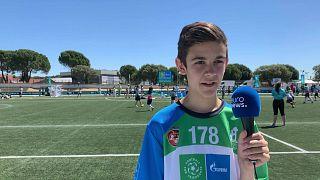 Football for Friendship profile: Theo Bua, Sweden