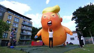 'Bebek Trump' balonu Londra'daki protestolarda yeniden kullanılacak
