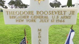 D-Day anniversary: Trump to visit graves of two of Roosevelt's sons at Normandy American Cemetery