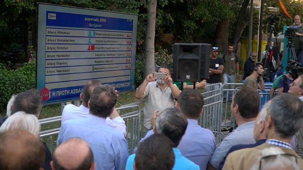 Un raz-de-marée conservateur déferle sur la Grèce