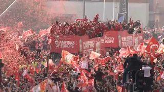 Liverpool feiert Champions League-Helden