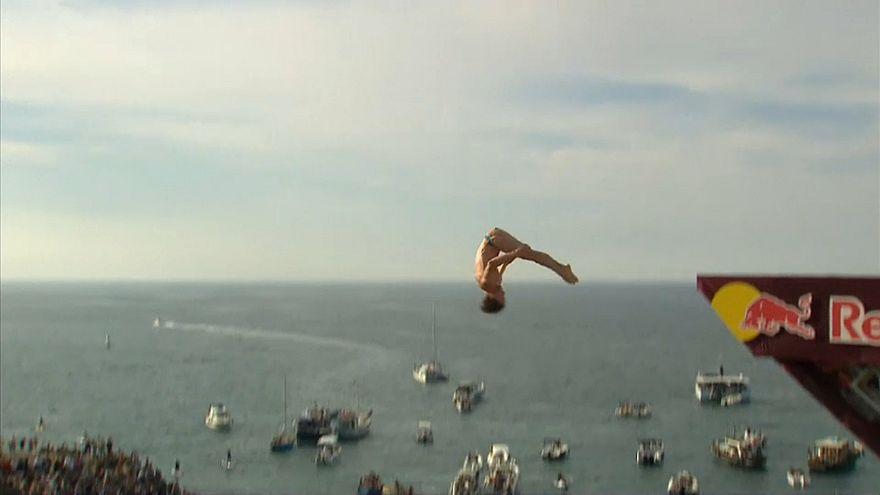 Чемпионат по клифф-дайвингу: прыжок в неизвестность