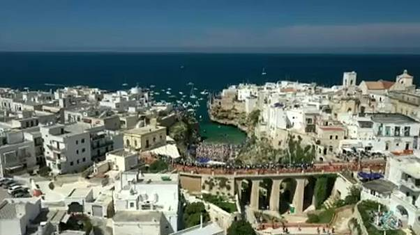 Cliff Diving World Series in Polignano a Mare