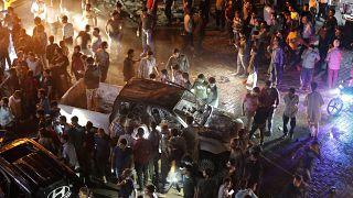 Robbantás volt Szíriában az esti ima után, 13-an meghaltak, köztük gyerekek is