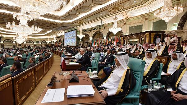 خلال القمة الإسلامية في مكة- أرشيف رويترز