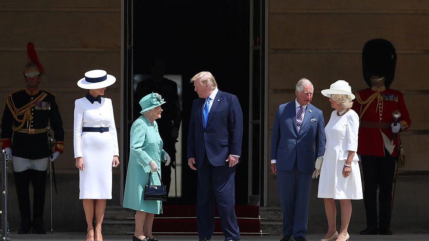 Trump llega a Londres precedido por la polémica