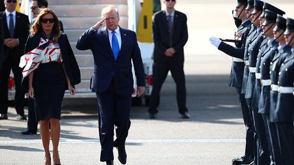 Europa-Besuch: Glanz und Gloria für Donald Trump