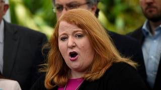 Naomi Long, MEP for the Alliance Party in Northern Ireland