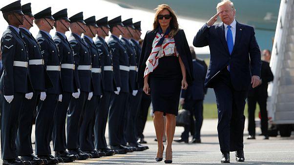سفر دونالد ترامپ به بریتانیا