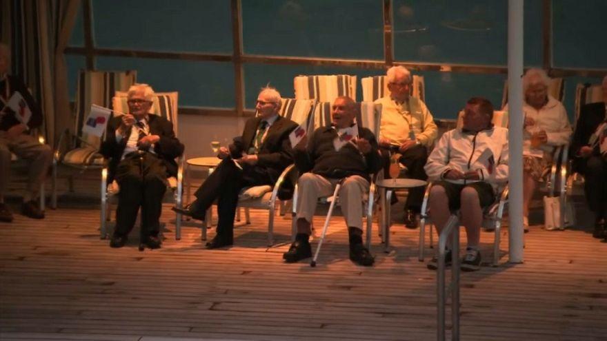 Día D: veteranos británicos viajan a Normandía 75 años después
