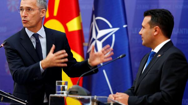 Macedónia do Norte integra NATO em 2020