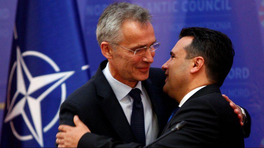 دبیرکل ناتو در اسکوپیه: به مقدونیه خوشآمد میگوییم
