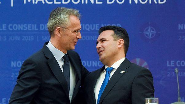NATO Genel Sekreteri Stoltenberg: Kuzey Makedonya yakında 30. üyemiz olacak