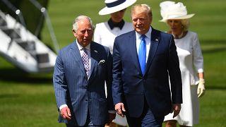 В Букингемском дворце принимают Дональда Трампа