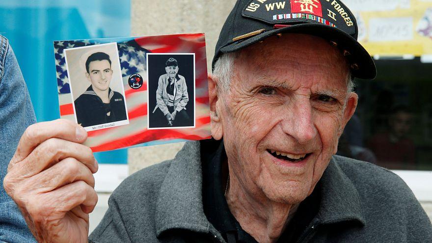 Ветеран высадки на Омаха-бич 94-летний Клифф Гудэлл