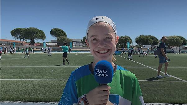 """""""Football can make people happy, it can bring joy to communities,"""" says Sophie Folds, USA"""