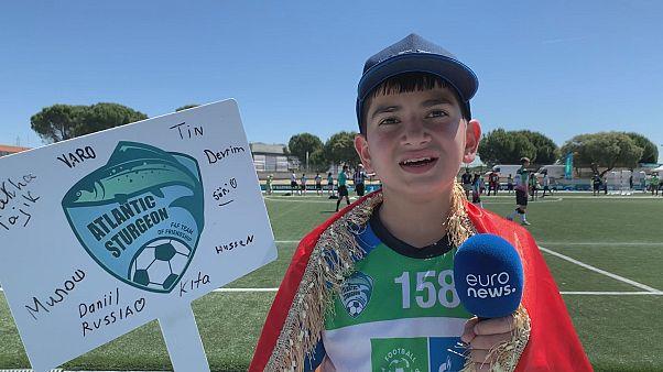 Football for Friendship profile: Makhsumov, Tajikistan