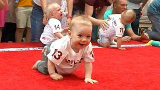 مسابقه دو نوزادان در لیتوانی