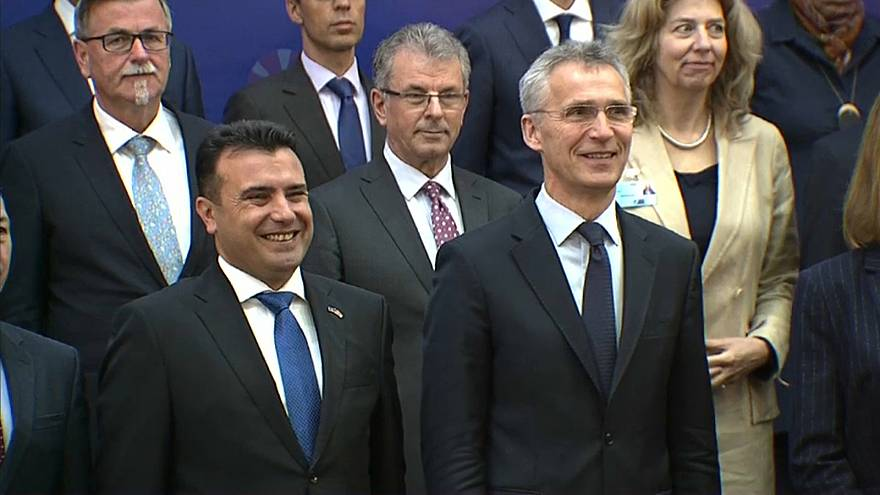 يانس ستولتنبرج الأمين العام لحلف شمال الأطلسي