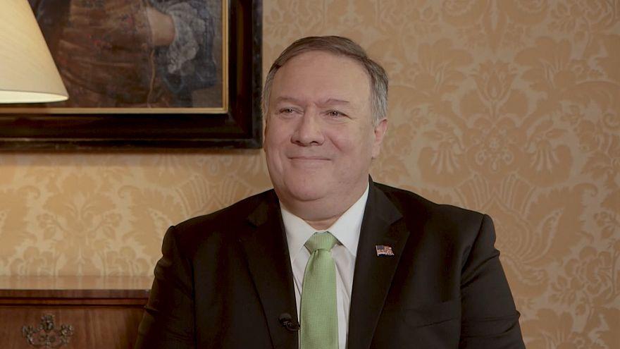 پمپئو به یورونیوز: اروپا و آمریکا درک مشترکی از خطر ایران دارند