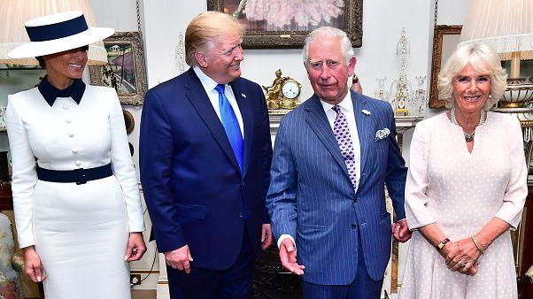 Donald Trump londoni látogatása