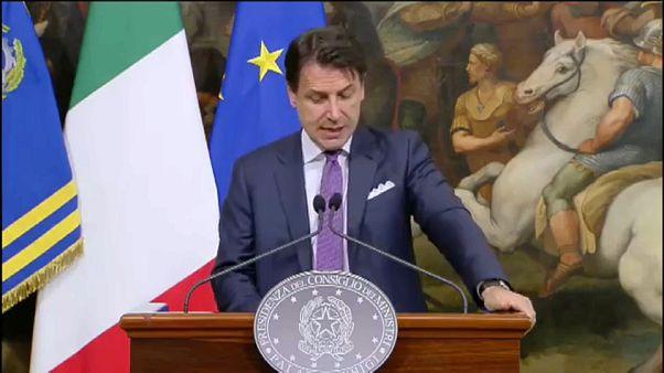 Giuseppe Conte: ultimatum ai due vicepremier e paletti sull'Europa
