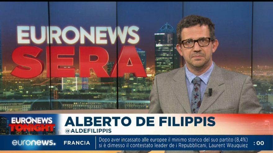 Euronews Sera - TG Europeo, edizione di lunedì 3, giugno