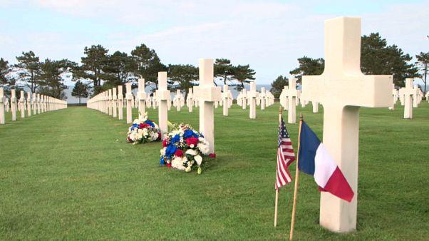 Día D: el cementerio estadounidense ultima los preparativos