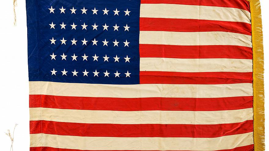 'First American flag planted at Omaha Beach' goes up for auction