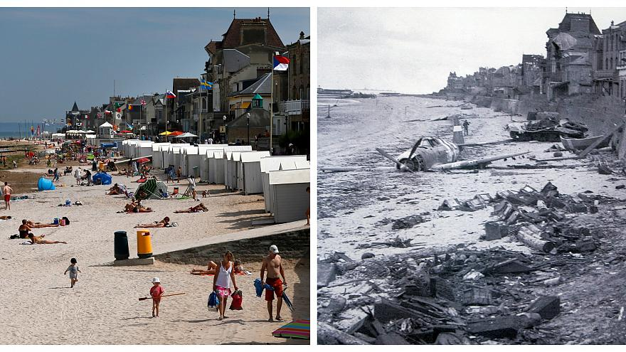 Fotók: hogy néznek ki a partraszállás helyszínei ma
