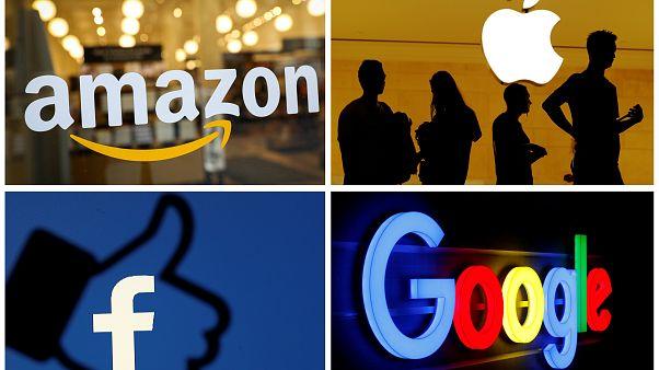 Google, Amazon, Apple και Facebook στο στόχαστρο της αμερικανικής κυβέρνησης