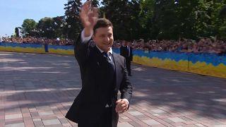Zelensky to meet EU officials on first foreign visit