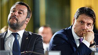 ماتئو سالوینی و جوزپه کونته