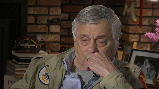 """Día D: """"Cuando te estás muriendo llamas a tu mamá"""", dice un veterano"""