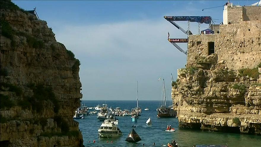 The Italian leg took place against the backdrop of Polignano a Mare