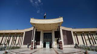 The Rusafa Central Criminal Court in Baghdad, Iraq.