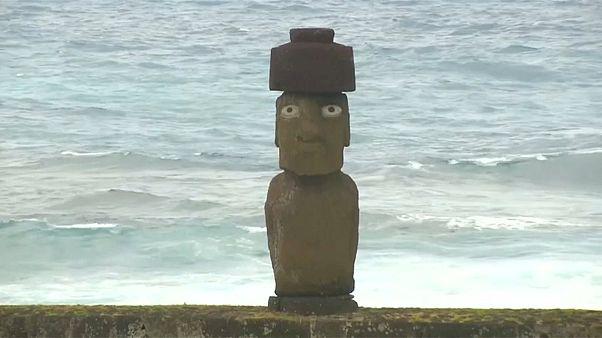 Isla de Pascua quiere recuperar el Hoa Hakananai'a