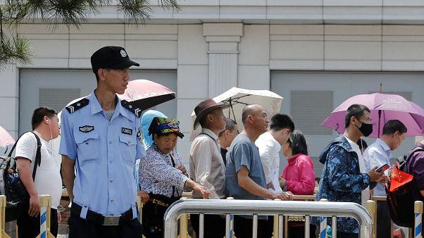 الصينيون يستيقظون على الذكرى 30 لأحداث تيانانمين وسط اجراءات أمنية مشددة