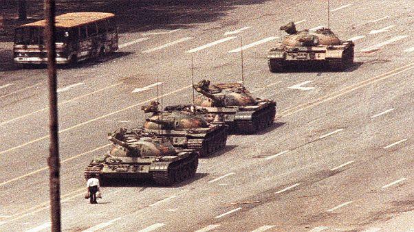 Tiananmen Meydanı / 5 Haziran 1989