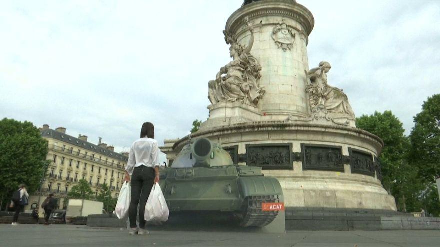 Во Франции вспоминают события на Тяньаньмэнь