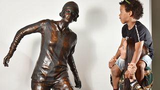 Lily Parr's statue.
