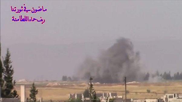 Termőföldeket gyújtottak fel Szíriában