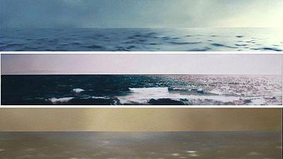 Gerhard Richter Seascapes - Guggenheim Museum Bilbao