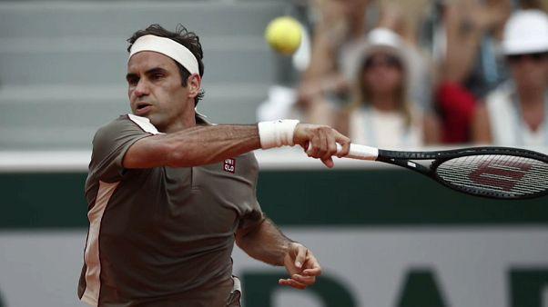 Nadal y Federer se citan en las semifinales de Roland Garros