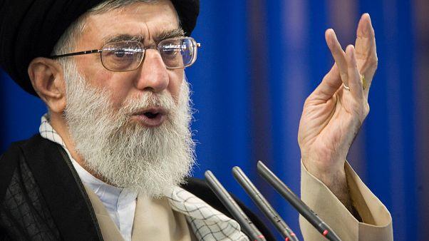 İran dini lideri Ali Hamaney