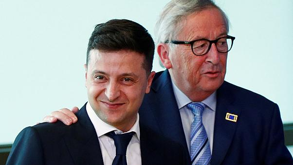 Zelenszkij és Juncker
